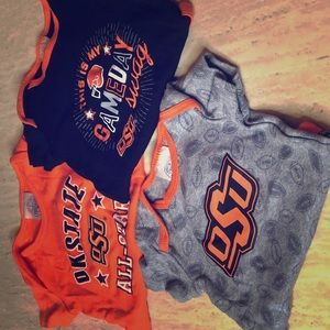 Other - Oklahoma State OSU onesies set of 3